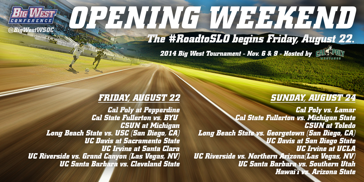 Women's Soccer Season Is Upon Us - Big West Conference