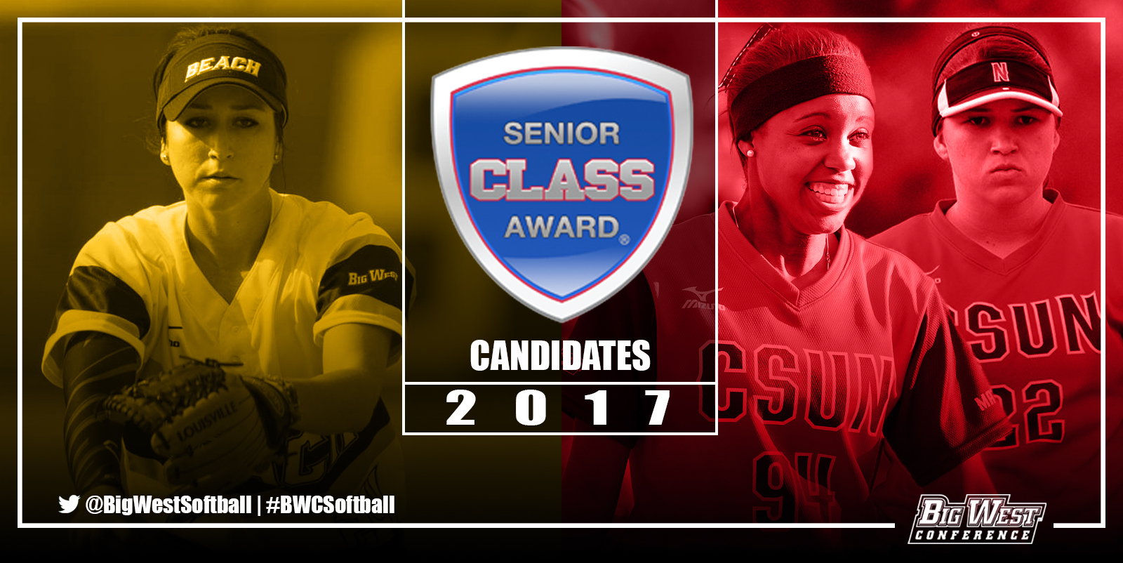 Three Big West Players Candidates For Softball Senior CLASS Award