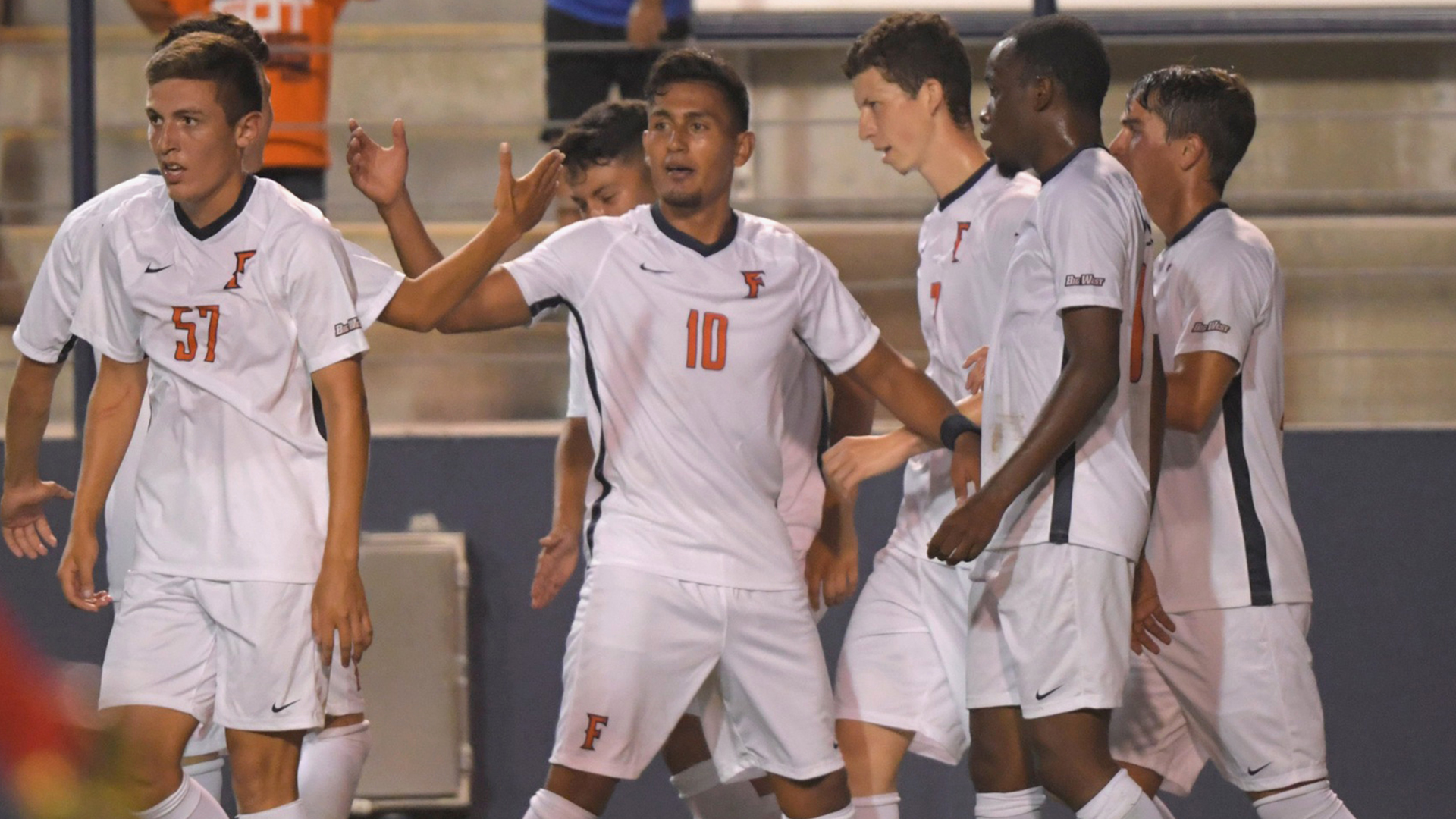 Cal State Fullerton Men S Soccer Joins Nationally Ranked Company Big West Conference
